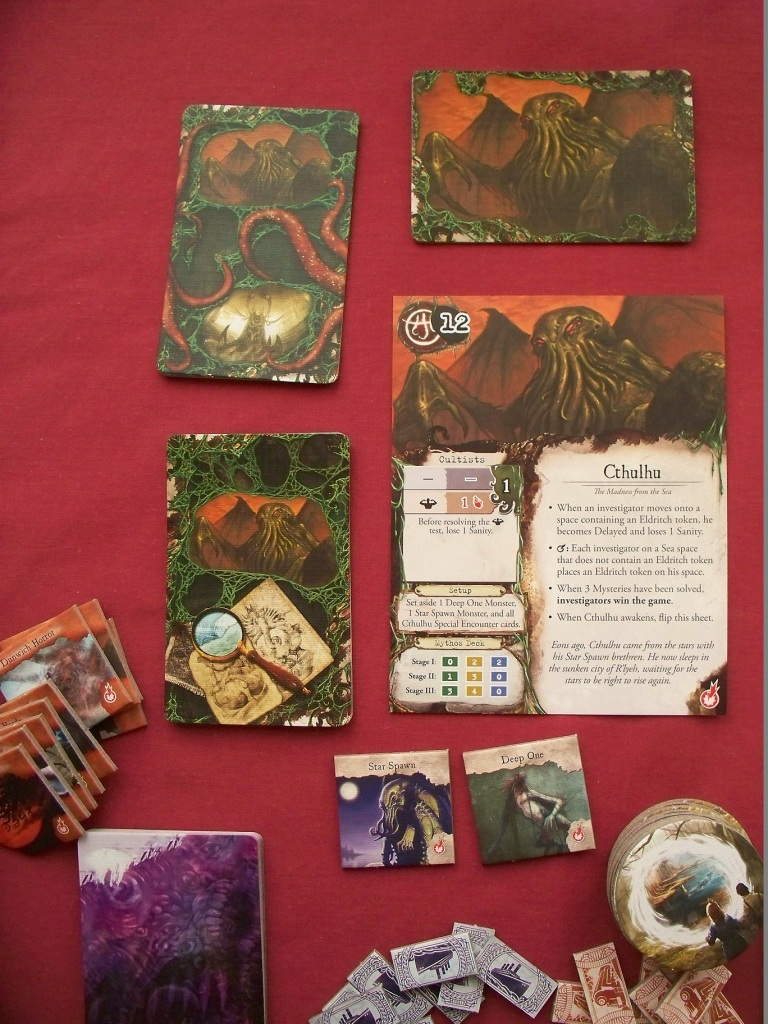 Eldritch Horror - Cthulhu