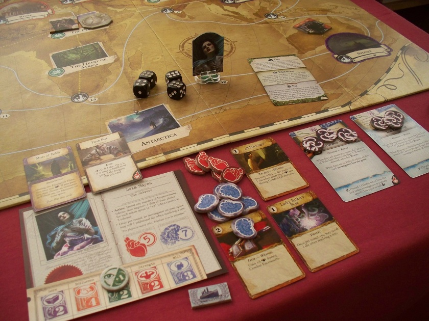 Eldritch Horror gameplay
