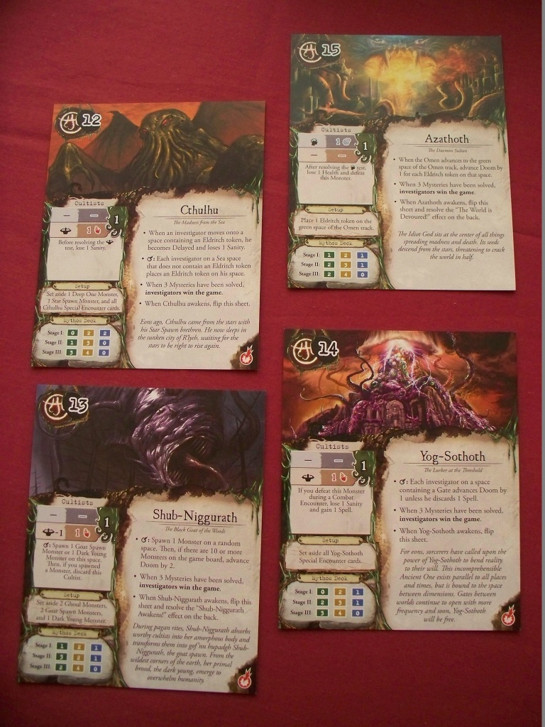 Eldritch Horror - Ancient Ones