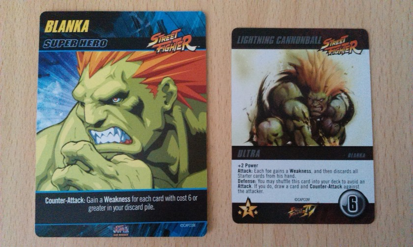 Street Fighter Blanka promo