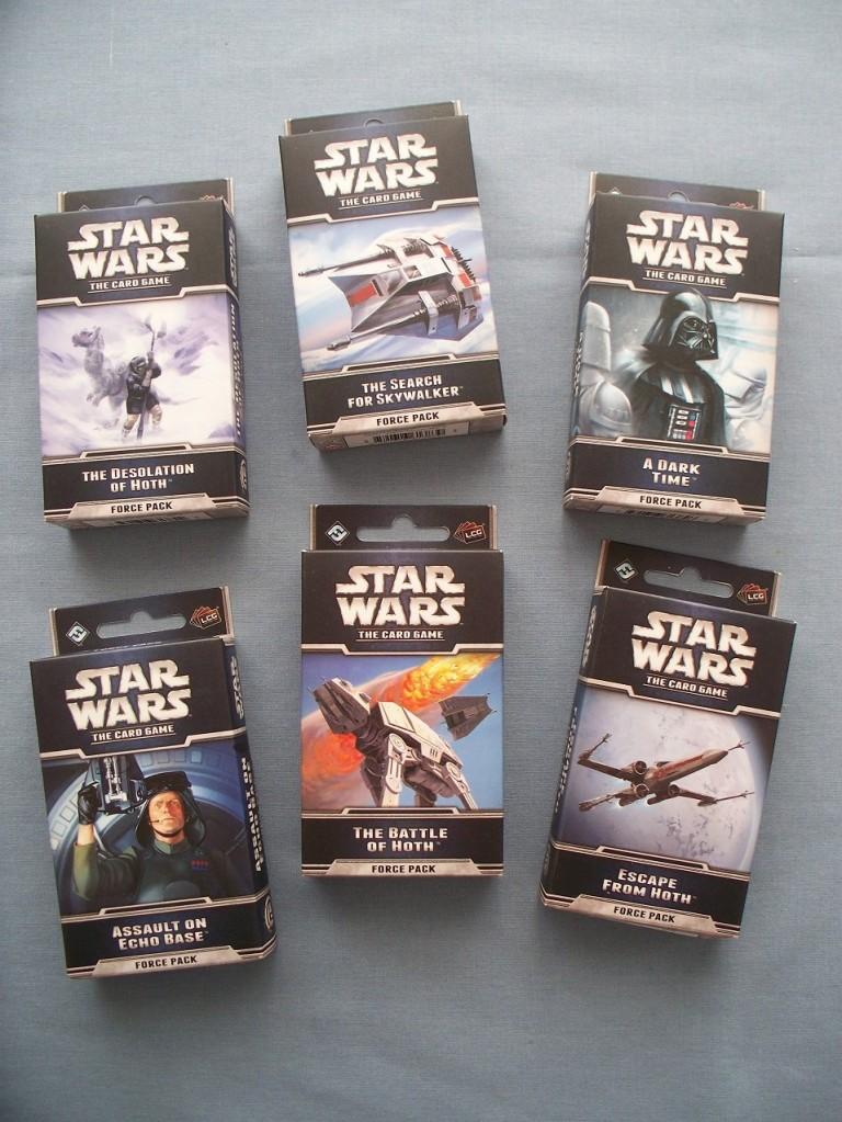 Star Wars LCG Hoth Cycle