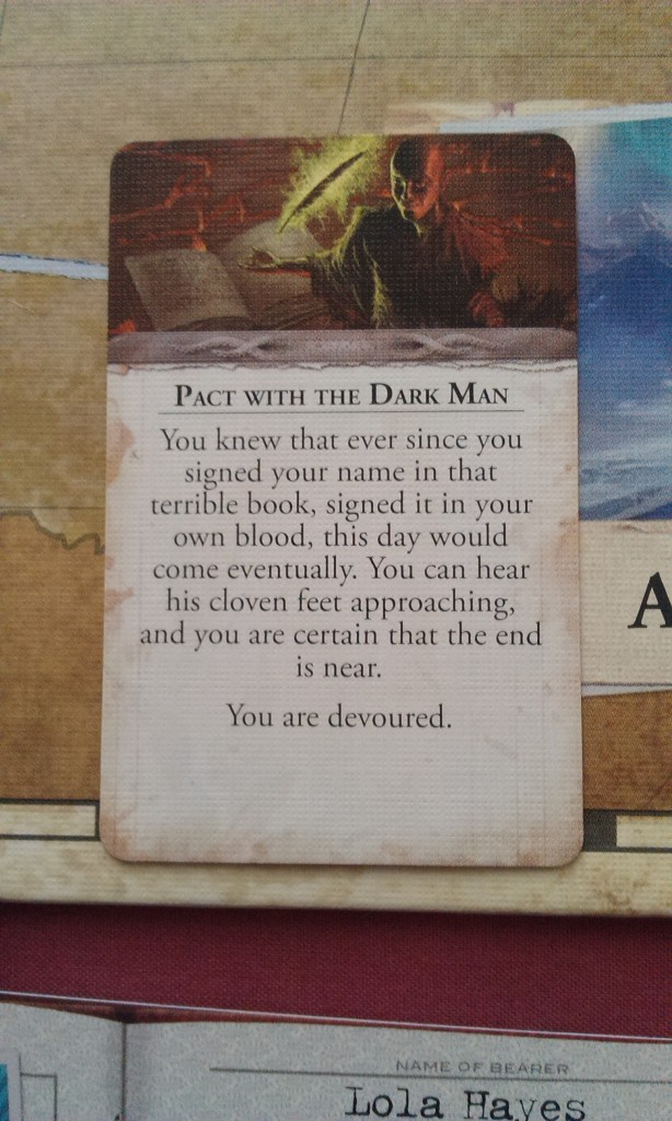 Eldritch Horror - Dark Pact