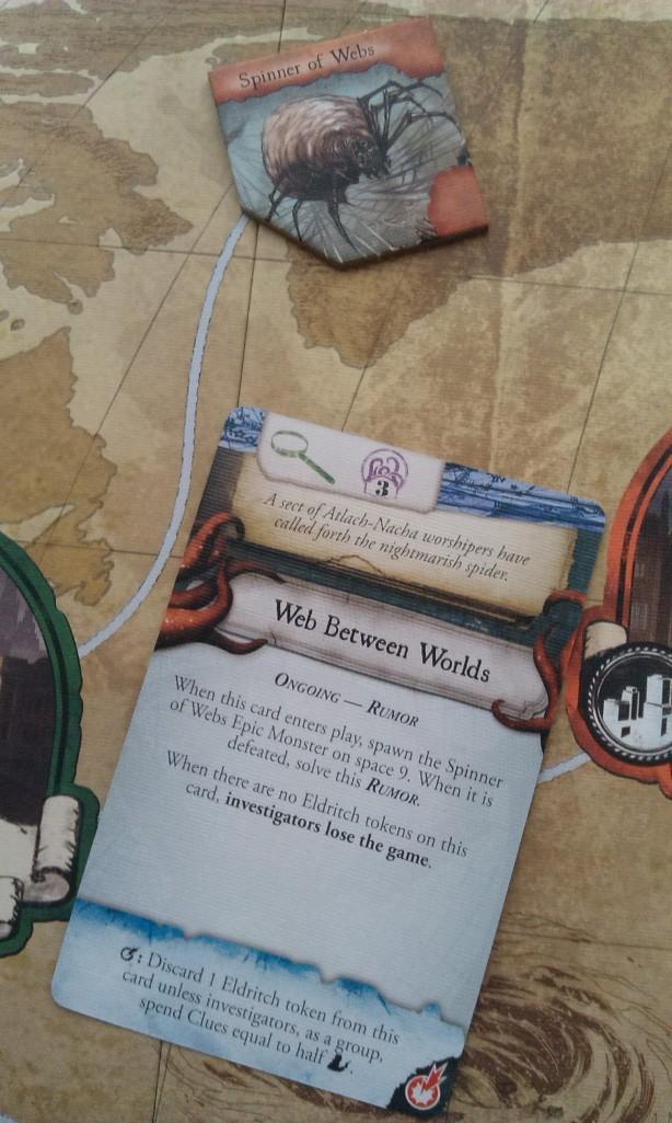 Eldritch Horror - Spinner of Webs