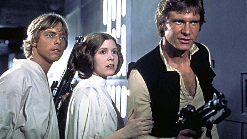 Luke Skywalker Leia Organa Han Solo
