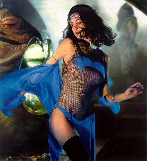 Mara Jade in Jabba's Palace