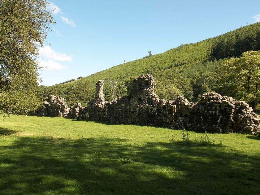 Cwmhir Abbey