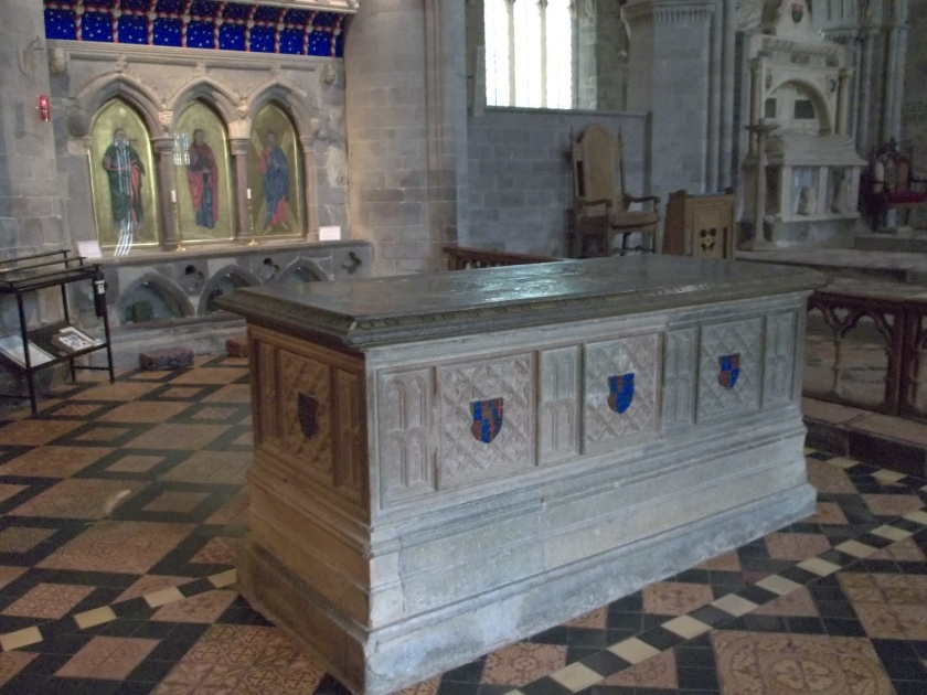 The tomb of Edmund Tudor, 1st Earl of Richmond and father of the future Henry VII