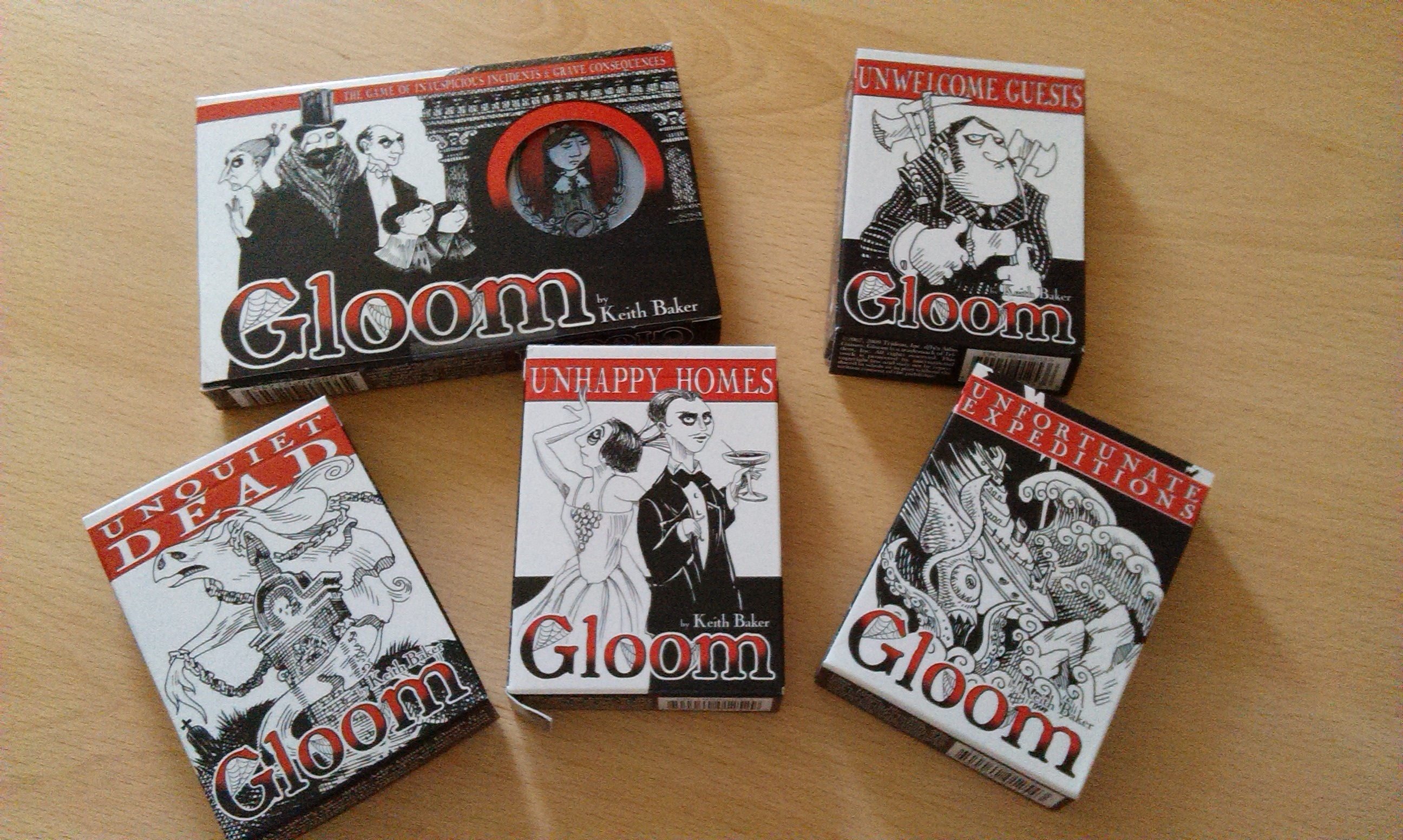 gloom card game review - HD 2592×1552