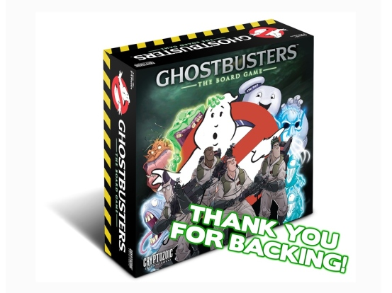 Ghostbusters boardgame Cryptozoic