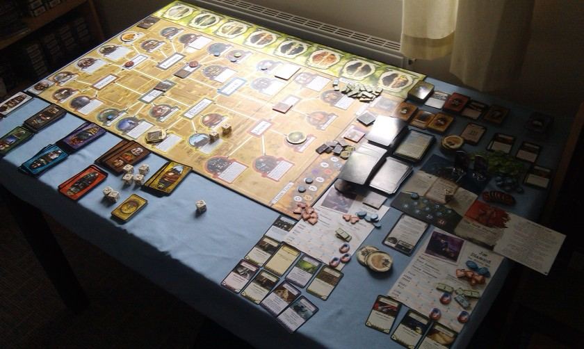 Arkham Horror Curse of the Dark Pharaoh