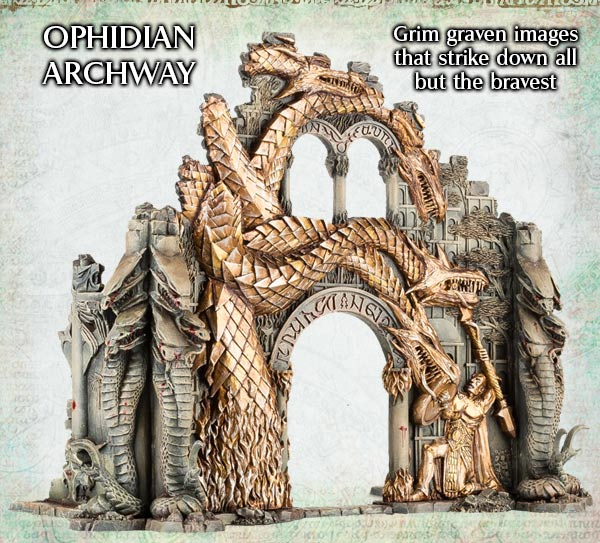 Ophidian Archway Age of Sigmar
