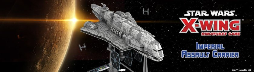 X-Wing Imperial Assault Carrier