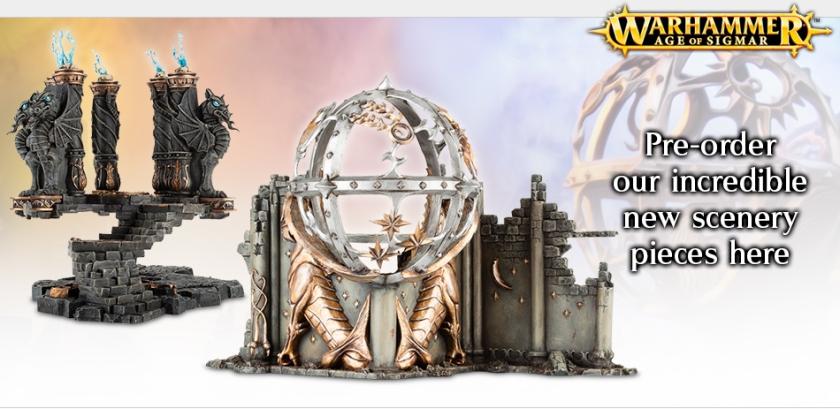 Warhammer Age of Sigmar Scenery