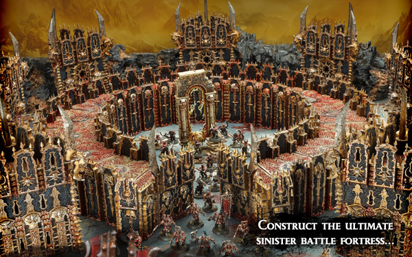 Warhammer Age of Sigmar Chaos Dreadhold