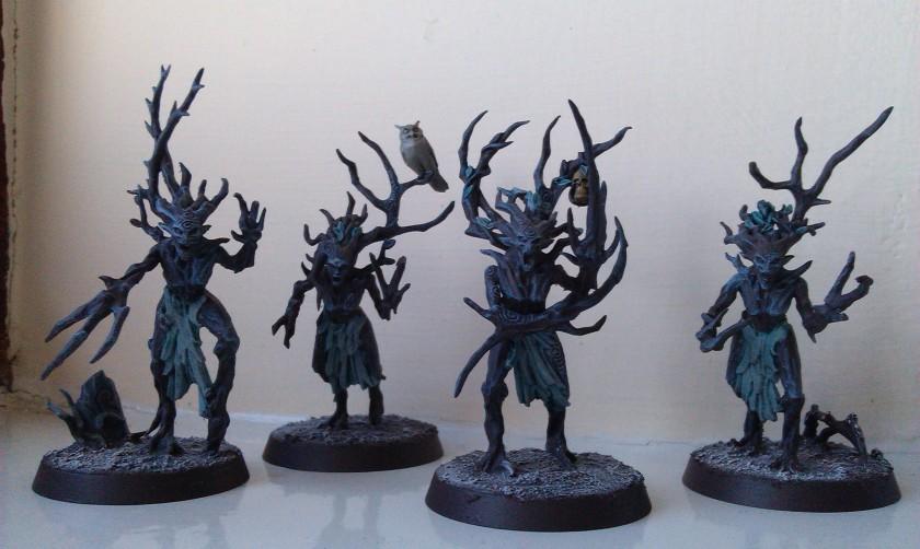 Warhammer Age of Sigmar Sylvaneth Dryads