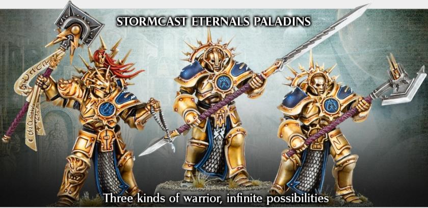 Warhammer Age of Sigmar Paladins