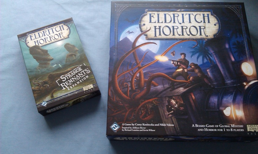 Eldritch Horror Strange Remnants