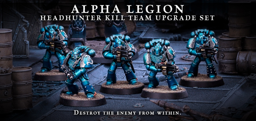 Forge World Alpha Legion Headhunter Kill Team