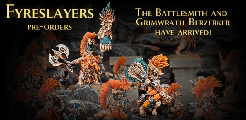 Age of Sigmar Fyreslayers