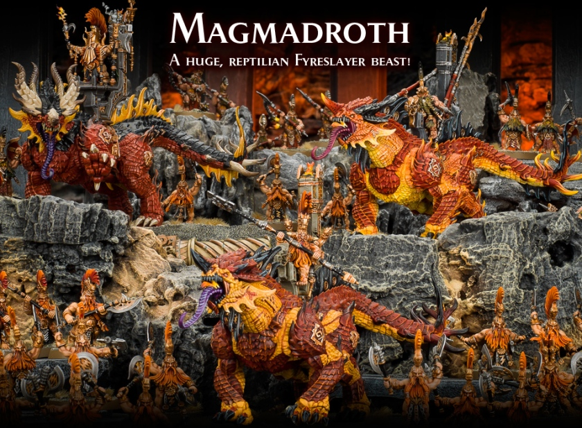 Age of Sigmar Magmadroth