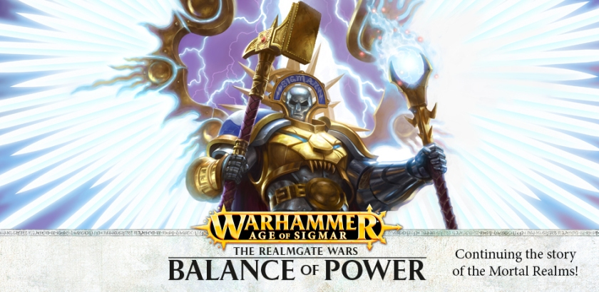 Warhammer Age of Sigmar Realm Gate Wars Balance of Power