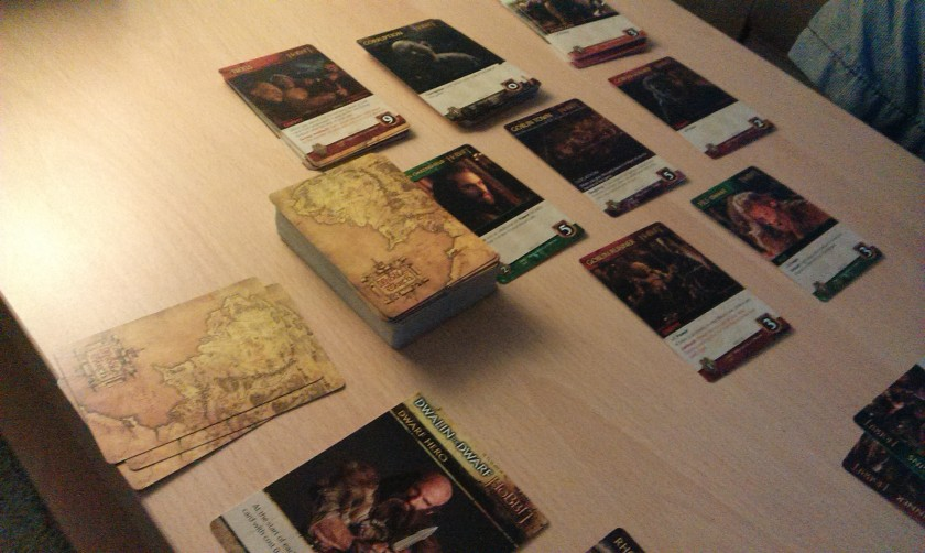 The Hobbit deck-building game