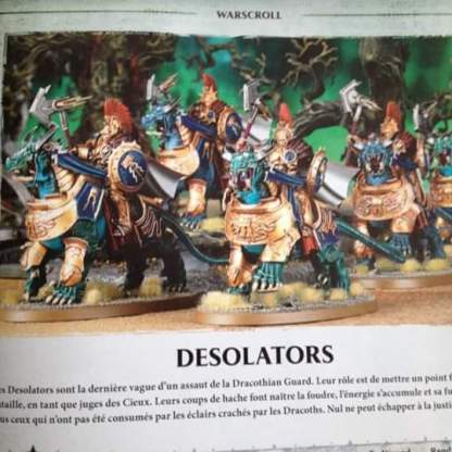 Age of Sigmar Desolators