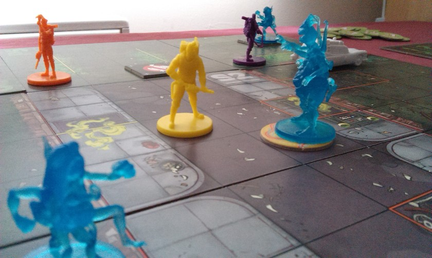 Ghostbusters board game Cryptozoic