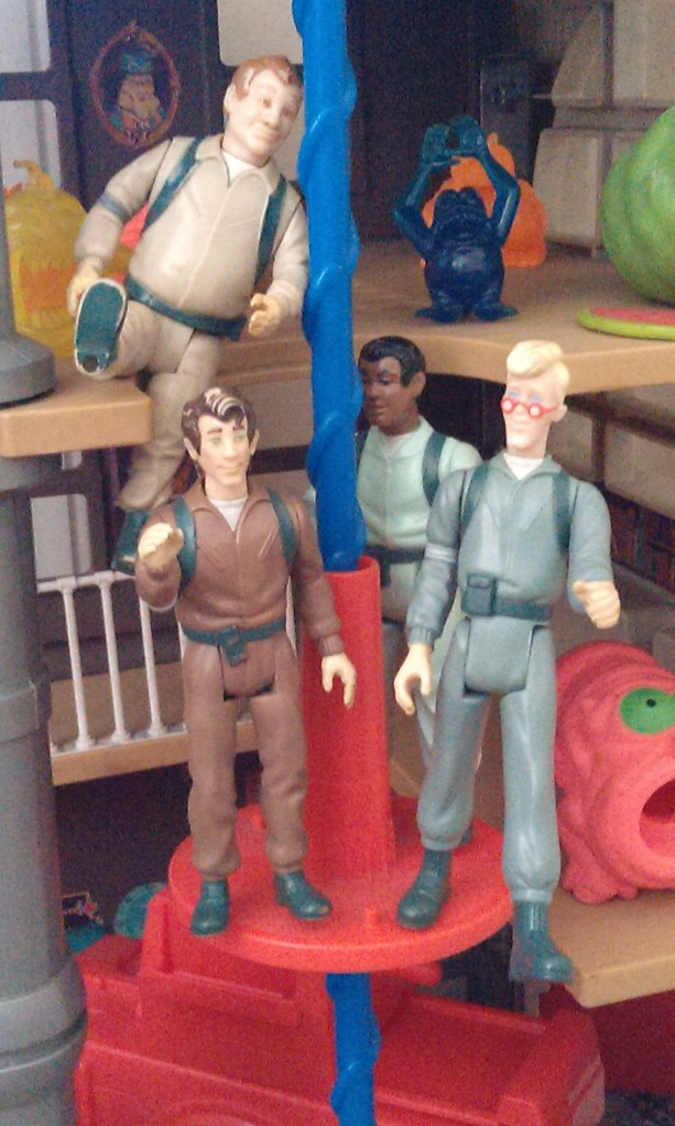 Ghostbusters retro toys