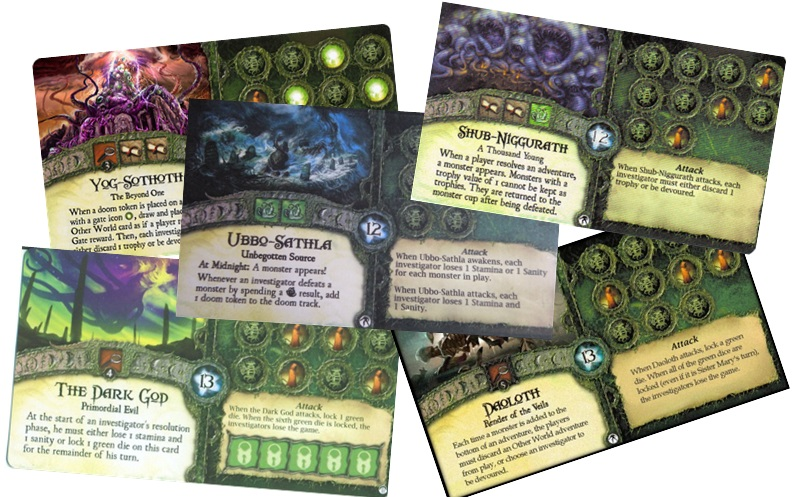 Elder Sign promo ancient one cards