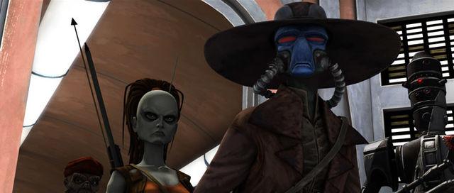 Star Wars Clone Wars Cad Bane