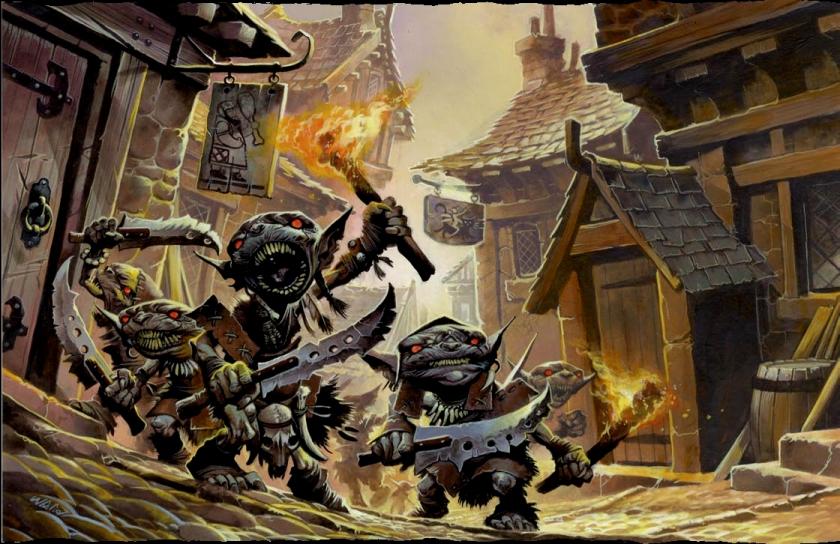 Pathfinder goblins