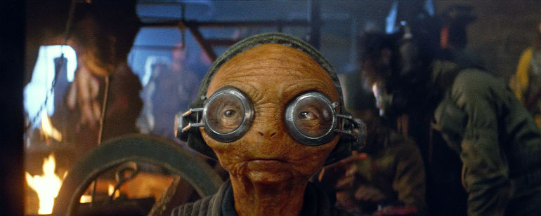 The Force Awakens Maz Kanata