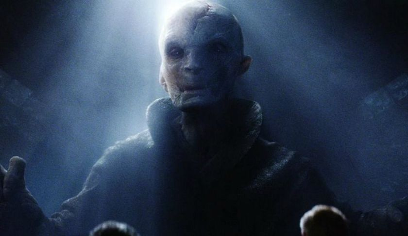 The Force Awakens Supreme Leader Snoke