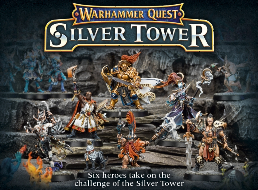 Warhammer Quest Silver Tower
