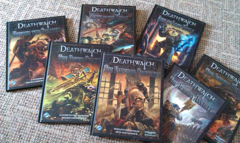 Deathwatch RPG