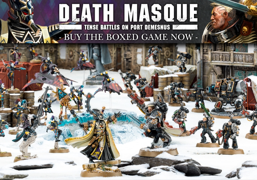 Warhammer 40k Death Masque