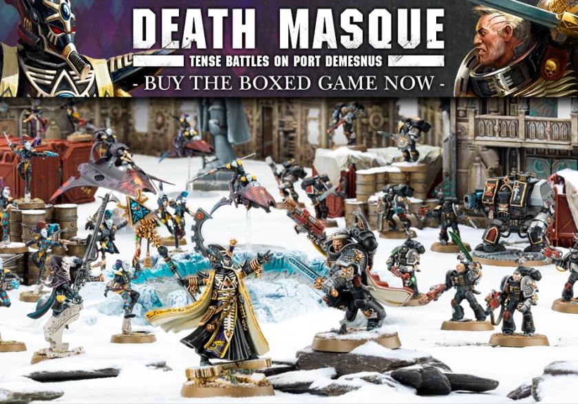 Warhammer 40k Death Masque