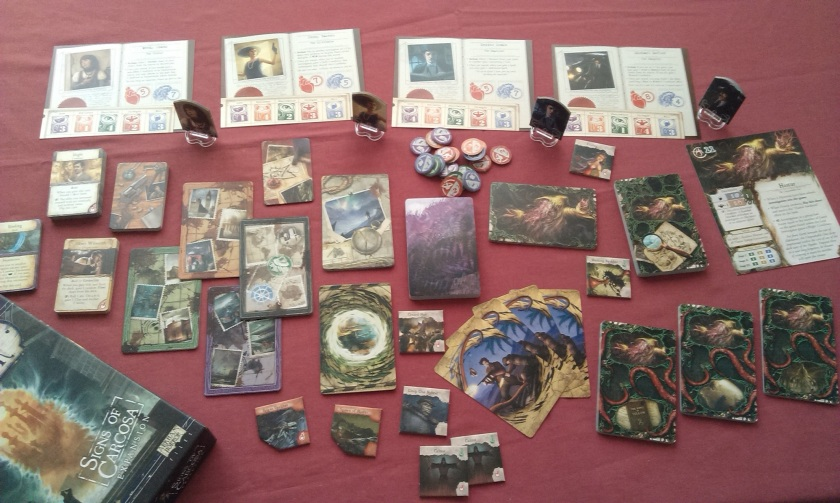 Eldritch Horror Signs of Carcosa