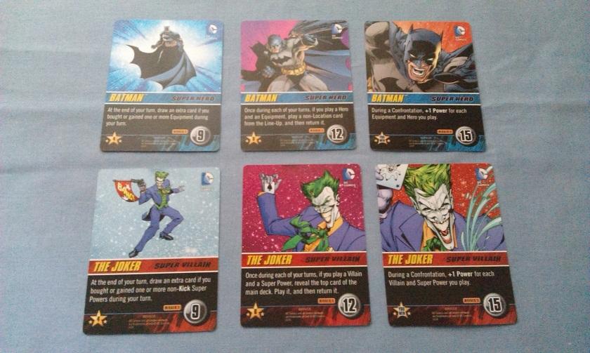 DC Rivals Batman vs The Joker