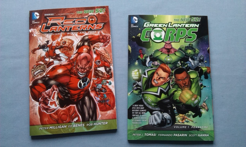 Green Lanterns Red Lanterns