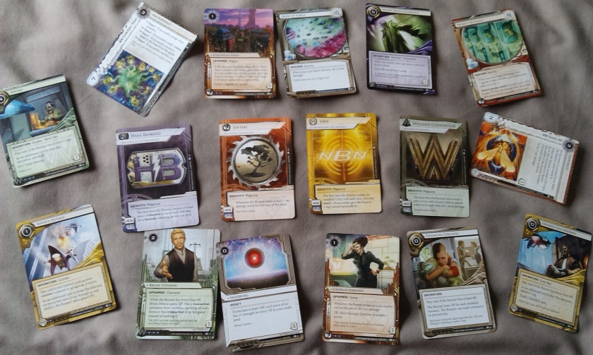 Android Netrunner Flashpoint Cycle