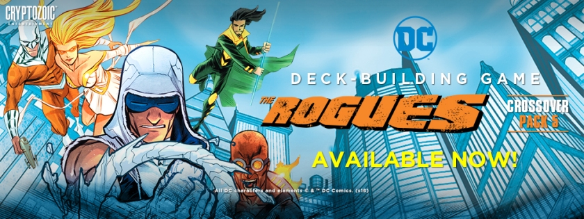 DC deck building game Rogues