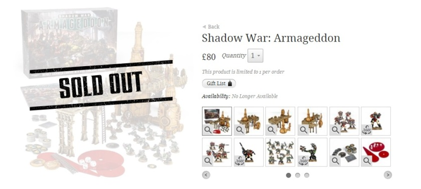 Warhammer 40k Shadow War Armageddon