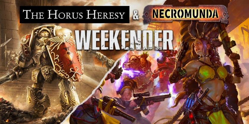Horus Heresy Necromunda Weekender