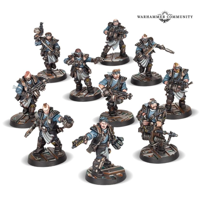 Orlock Gang Necromunda