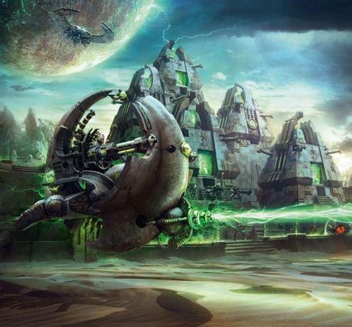 Necrons Tesseract Ark