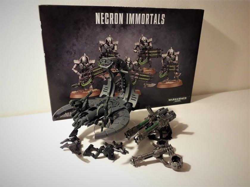Necrom Immortals / Annihilation Barge