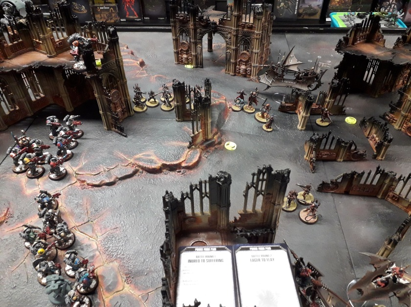 Deathwatch vs Drukhari, round two