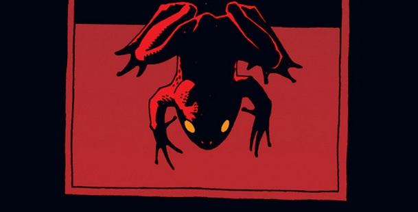 Hellboy frogs